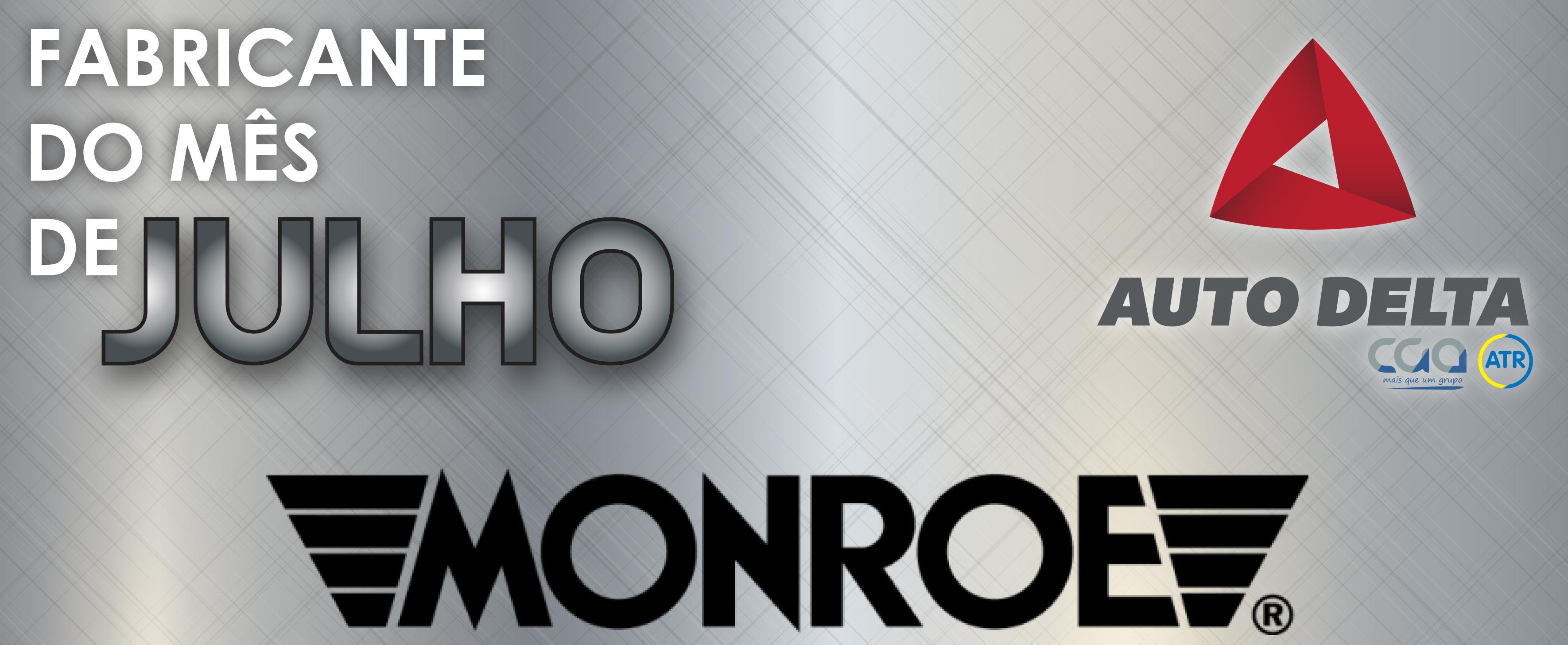 A Monroe já é Fabricante do Mês na Auto Delta